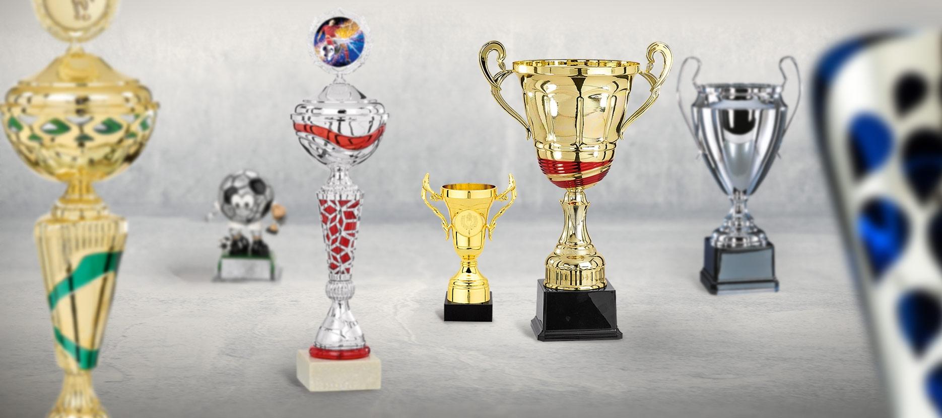 Pokal Online Gestalten